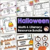 Halloween Activities Pre-K (PreK) Literacy and Math Center