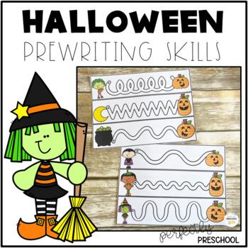 Halloween Prewriting Skills