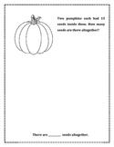 Halloween Primary Math Problem Solving