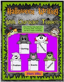 Halloween Primary Writing