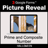 Halloween: Prime and Composite Number - Google Forms Math