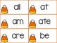 Halloween Primer Sight Word Games