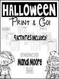 Halloween Print & Go!
