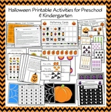 Halloween Printable Activities for Early Childhood and Kindergarten