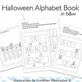 Halloween, Printable, Alphabet Book, Cut and Paste Book, Preschool, K, 1st Grade