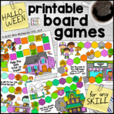 Halloween Printable Board Games - for Any Skill