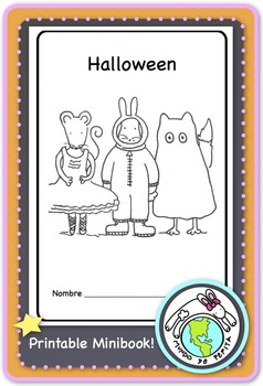 Halloween Printable Spanish Minibook