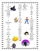 Halloween Printable Student Word Bank