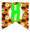 Halloween Printable banner