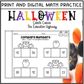 Halloween Math Printables: Grade 2