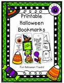Free Halloween Printable Bookmarks