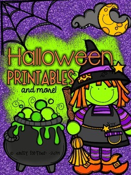 Halloween Printables (and more) for Kindergarten
