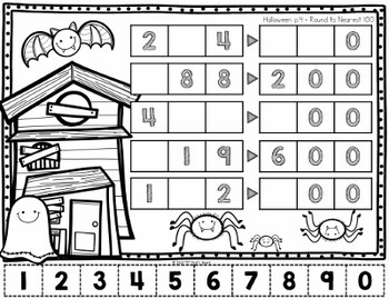 Halloween Problem Solving Activities - Tricky Tiles