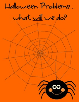 Halloween Problem Solving Mini Unit for Common Core Math