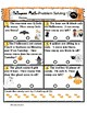 Problem Solving Sheets Addition and Subtraction to 20 Hall