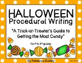 Halloween Procedural How-To Writing: A Trick-Or-Treater's Guide