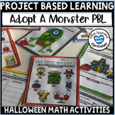 Halloween Project Based Learning Monster Math Projects PBL