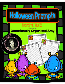 Halloween Prompts for Primary Grades