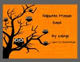 Halloween Pronoun Game