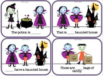 Halloween Pronoun Sort