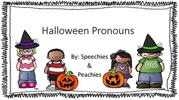 Halloween Pronouns