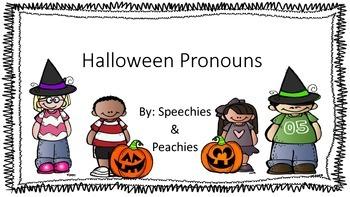 Halloween Pronouns
