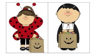 Halloween Pronoun Freebie