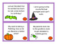 Halloween Proofreading Task Cards
