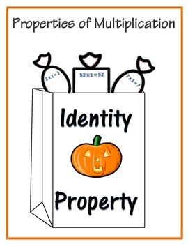 Halloween Properties of Multiplication