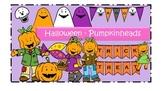 Halloween - Pumpkinheads Clipart