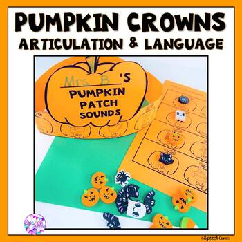 Halloween Pumpkin Articulation Craft Activity