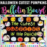 Halloween Pumpkin Bulletin Board Set Pumpkin Writing Templ