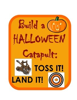 Halloween Pumpkin Candy Catapult Engineering Science Chall