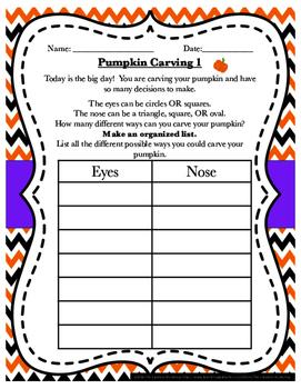 Halloween Pumpkin Carving Problem Solving