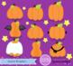 Halloween Pumpkin Clipart Kawaii