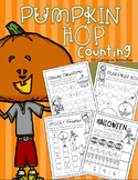 Halloween Pumpkin Counting 1-10 Activities