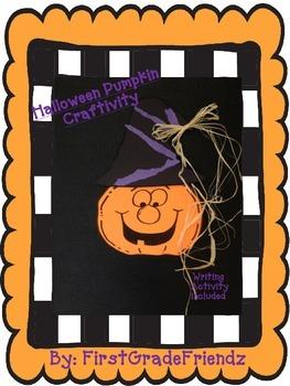 Halloween Pumpkin Craftivity