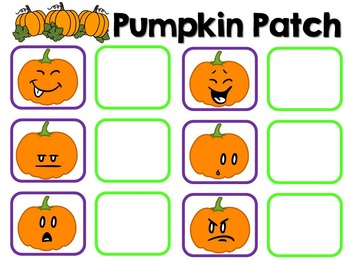 Halloween Pumpkin Emotions Adapted Book {Pre K, Autism, Special Education}
