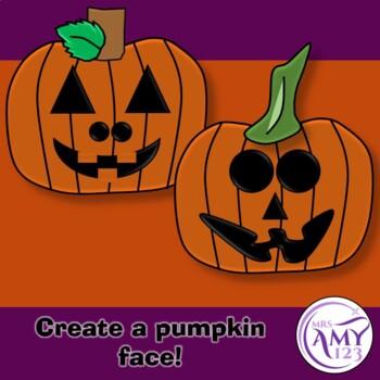 Halloween Pumpkin Face Barrier Game