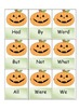 Fry words Halloween
