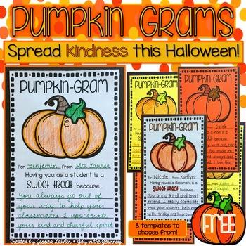 Halloween Pumpkin Grams FREE
