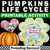 Pumpkin Life Cycle, Science Interactive Notebook, Hallowee