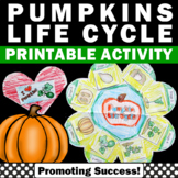 Pumpkin Craft ( Life Cycle of a Pumpkin ) Halloween or Thanksgiving Centers