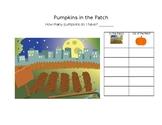 Halloween Pumpkin Math Game.
