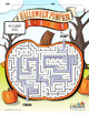 Halloween Pumpkin Maze Puzzle - Halloween Puzzle - Spooky, Pumpkin - B&W Ready