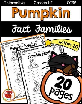 Halloween Pumpkin Fact Families