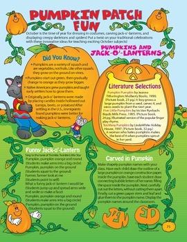Halloween Pumpkin Patch Fun Grades 1-3