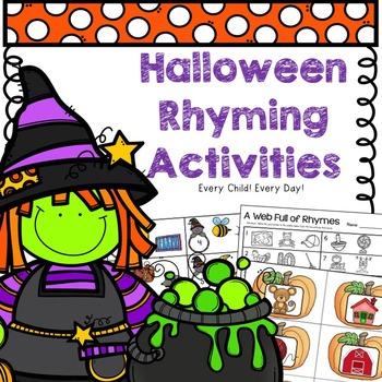 Halloween Rhyming Activities