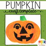 Halloween Pumpkin Printable Craftivity Template