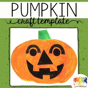 Halloween Pumpkin Printable Craftivity Template